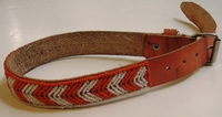 Kenyan Massai Beaded Dog Collar  #006