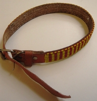 Kenyan Massai Beaded Dog Collar  #003