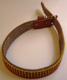 Kenyan Massai Beaded Dog Collar  #002