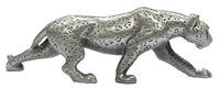 Leopard Pewter Carving