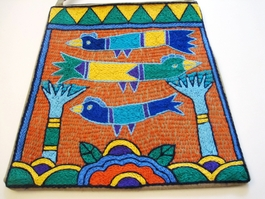 Shangaan Hand-Embroidered Purse #3344