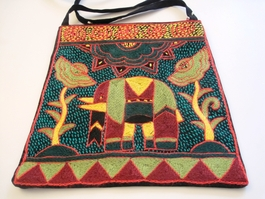 Shangaan Hand-Embroidered Purse #3339