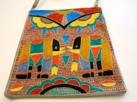 Shangaan Hand-Embroidered Purse #3342