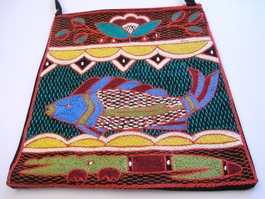 Shangaan Hand-Embroidered Purse #3341