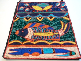 Shangaan Hand-Embroidered Purse #3340