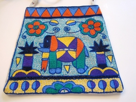 Shangaan Hand-Embroidered Purse #3338