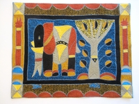 Shangaan Hand-Embroidered Placemat #3300