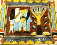 Shangaan Hand-Embroidered Placemat #3307