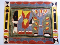 Shangaan Hand-Embroidered Placemat #3303