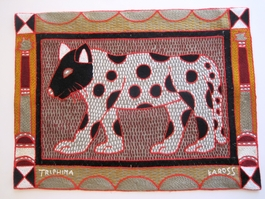 Shangaan Hand-Embroidered Placemat #3310