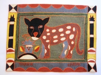 Shangaan Hand-Embroidered Placemat #3302