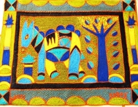 Shangaan Hand-Embroidered Placemat #3305