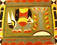 Shangaan Hand-Embroidered Placemat #3315