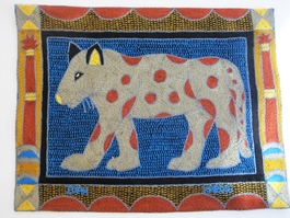 Shangaan Hand-Embroidered Placemat #3301