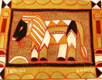 Shangaan Hand-Embroidered Placemat #3304