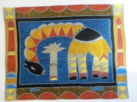 Shangaan Hand-Embroidered Placemat #3299