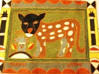 Shangaan Hand-Embroidered Placemat #3313