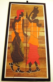Banana Leaf Batik Painting #10