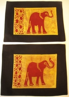 Ele Batik Placemats - Set of 2