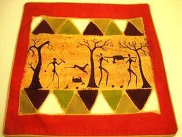 Batik Cushion Cover #14