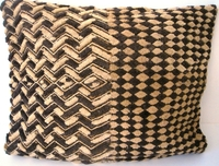 African Kuba Shoowa Cloth Pillow Cover #006
