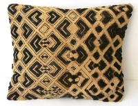 African Kuba Shoowa Cloth Pillow Cover #010