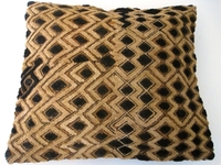 African Kuba Shoowa Cloth Pillow Cover #008