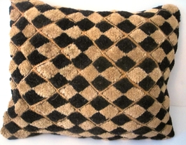 African Kuba Shoowa Cloth Pillow Cover #003