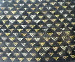 African Kuba Shoowa Textile Strip #001