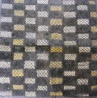 African Kuba Shoowa Textile Strip #004