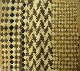 African Kuba Shoowa Textile Strip #006