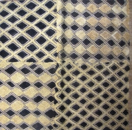 African Kuba Shoowa Textile Strip #005