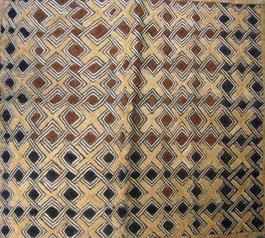 African Kuba Shoowa Textile Strip #009