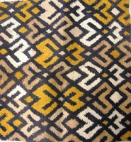 African Kuba Shoowa Textile Strip #014