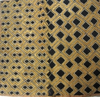 African Kuba Shoowa Textile Strip #002