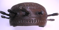 African Art Tribal Art Bronze Currency - Nigeria #002