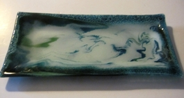 Arusha Glass Collection - Platter - #002