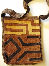 Multi-Use Kuba Cloth Bag #07