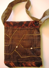 Multi-Use Kuba Cloth Bag #04