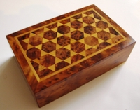 Handcrafted Rectangular Moroccan Thuya Box Design #2