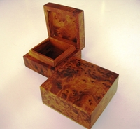 Moroccan Thuya Box - Square