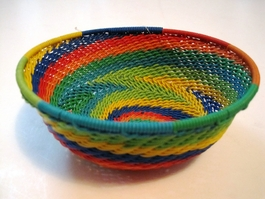 Zulu Telephone Wire Basket - 009
