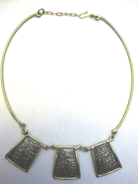 Handcrafted Brass Necklace #008