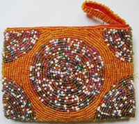 Beaded Clutch Purse - Madagascar - M01