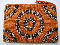 Beaded Clutch Purse - Madagascar - M05