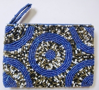 Beaded Clutch Purse - Madagascar - M03