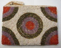 Beaded Clutch Purse - Madagascar - M04