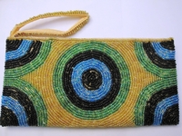 Beaded Clutch Purse - Madagascar - L04