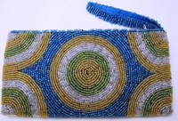 Beaded Clutch Purse - Madagascar - L05