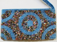 Beaded Clutch Purse - Madagascar - L03